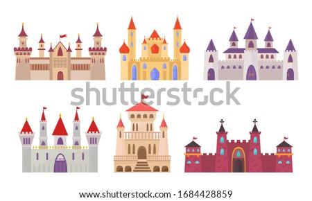 fairytale castles medieval