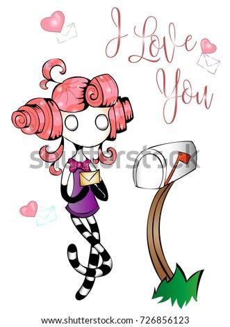 fairytale character cute little