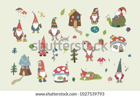 fairytale fantastic gnome dwarf