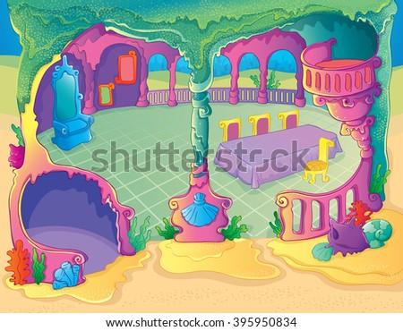fairytale mermaid dinner room