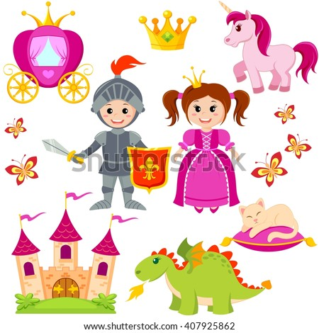 fairytale princess  knight