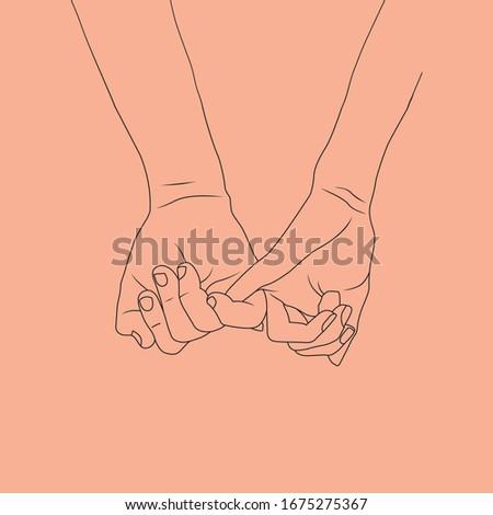faithful fingers always join hands