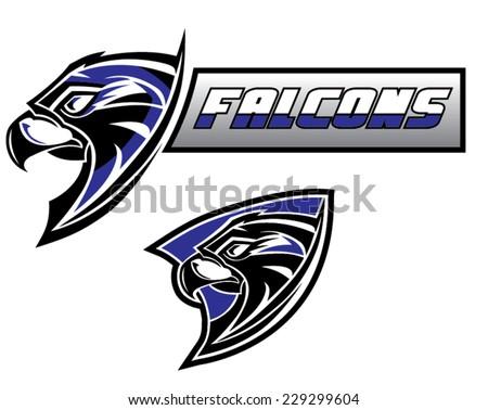 Falcon graphic logo