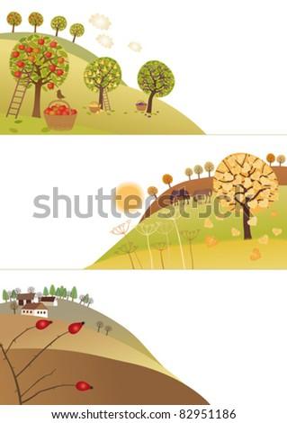 Fall corners