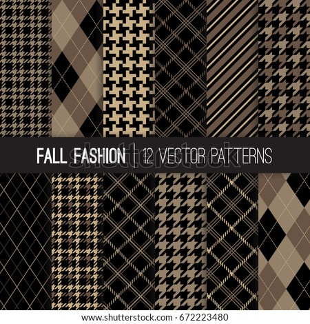 fall fashion textile patterns
