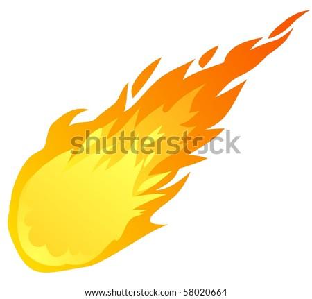 falling fire ball