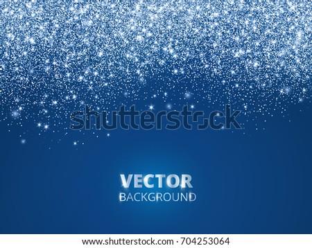 falling glitter confetti  snow
