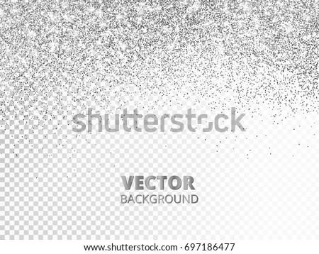 falling glitter confetti