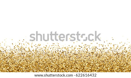 falling gold glitter effect for sale gift invite vip luxury rich card design
