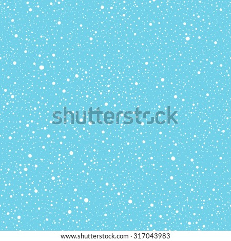 falling snow vector seamless