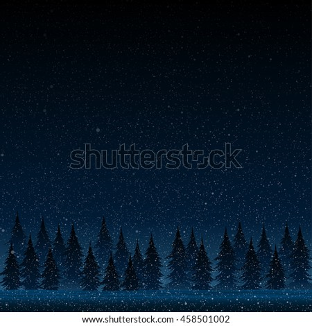 falling snow vector white