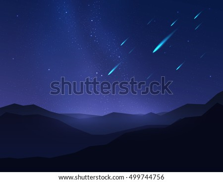 falling stars  asteroids or