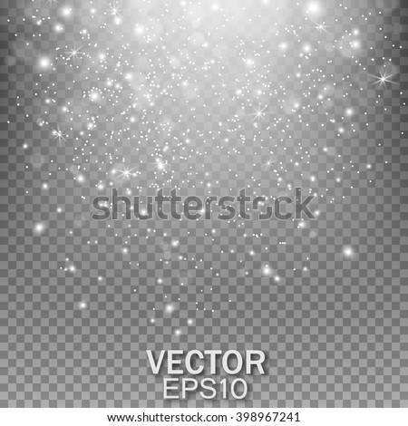 falling stars effect stardust