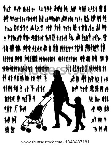 families with little child