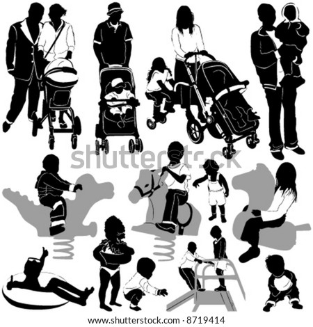 family and children group