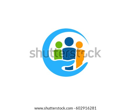 Family Care Logo Design Element