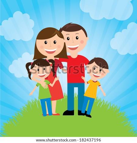 family design over landscape