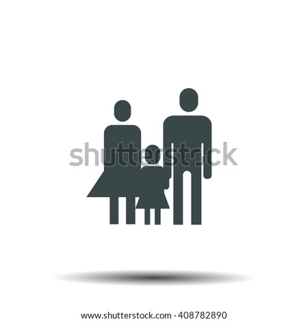 family icon design ,vector illustration