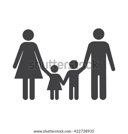 family icon family icon vector