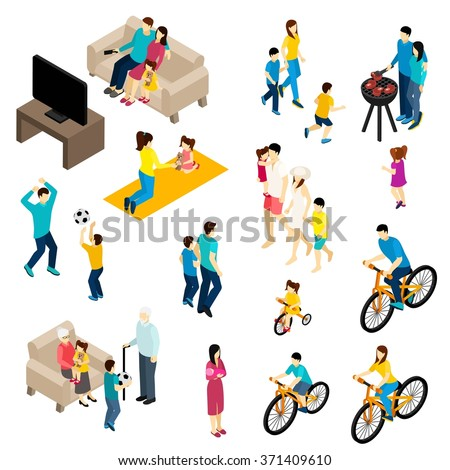 family isometric set with free