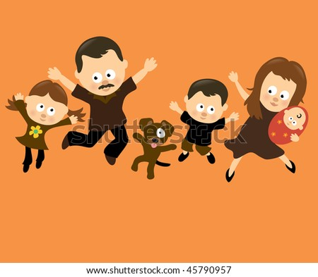 Family Jumping 3 (Hispanic)