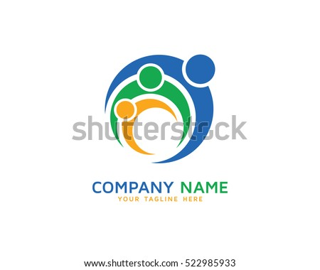 Family Logo Design Template
