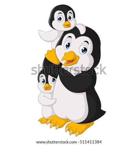 family of penguin