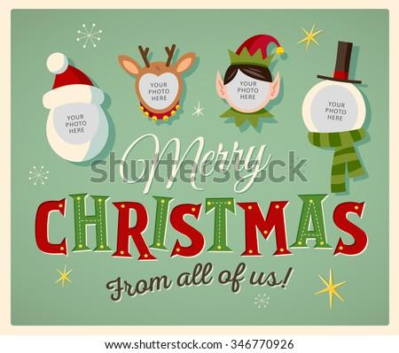 editable christmas cards