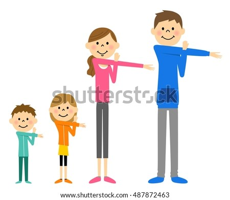 family to prepare exercise