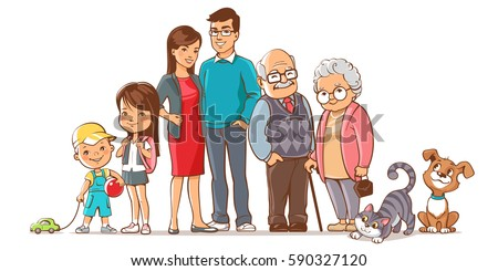 family together group of
