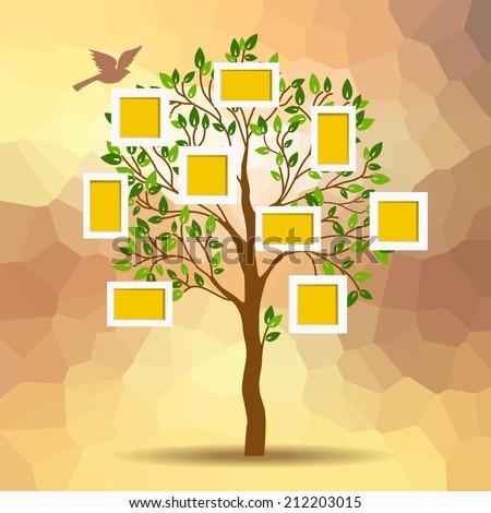 family tree design  insert your
