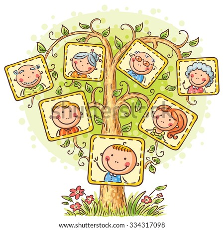 family tree in pictures  little