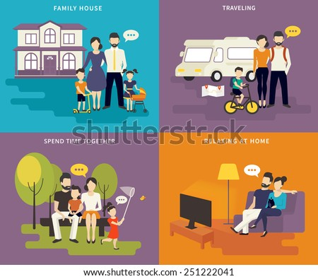 family with children concept