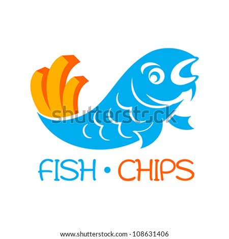 Fish and Chips Logo http://www.shutterstock.com/pic-108631406/stock-vector-famous-british-fast-food-fish-and-chips.html
