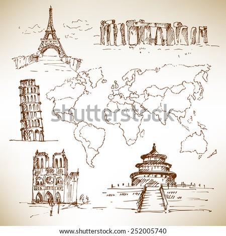famous buildings  famous places