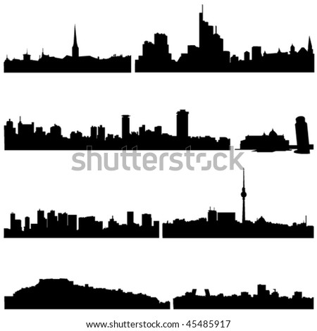 Famous buildings in European countries
