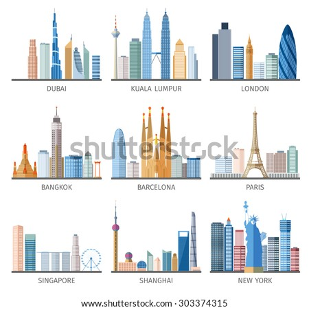 famous capitals and cities