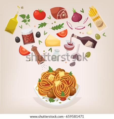 famous dish of italian cuisine