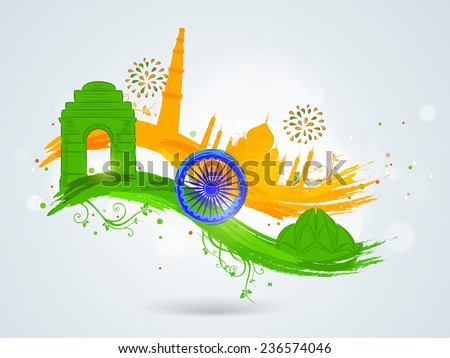 Famous Indian Logos Famous Indian Monuments With