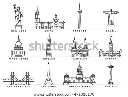 famous landmarks of america