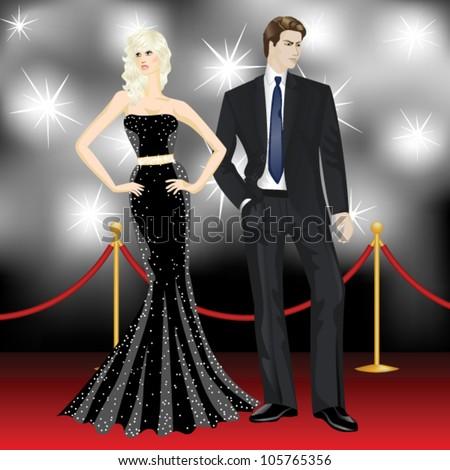 famous luxury couple  fashion
