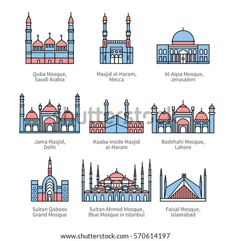 famous mosques   islam's