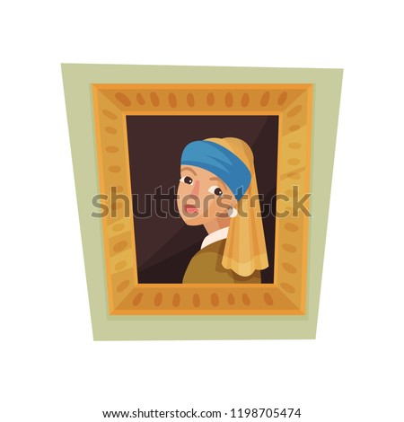 famous painting of girl with