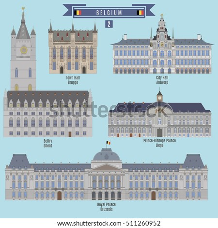 famous places in belgium  town
