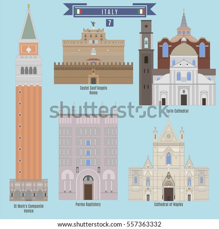 famous places in italy  st mark'