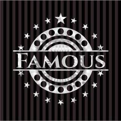Famous silver emblem