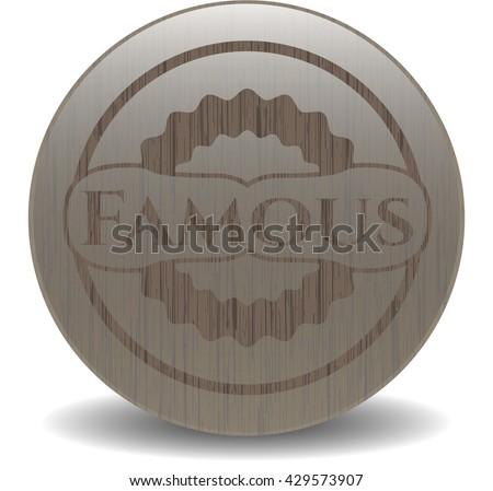 famous wooden emblem vintage