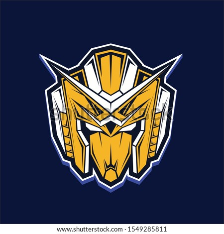fan made gundam robot head