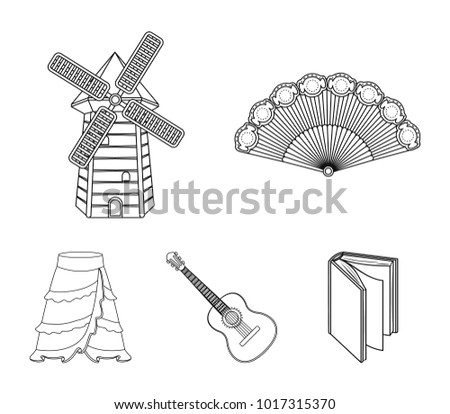 Spanish Fan Icons Download Free Vector Art Stock Graphics Images