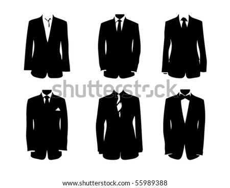 Fancy outfit - stock vector